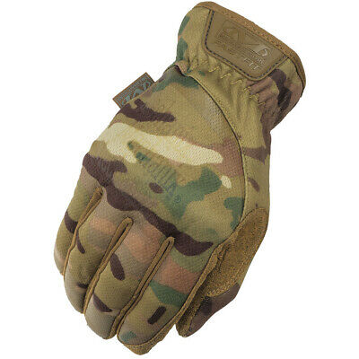 NEW Mechanix Tactical FastFit Military Army Cadet Airsoft Gloves Multicam MTP