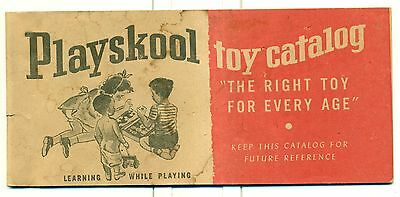 1950's Playskool Toy Catalog