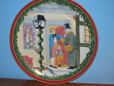 Department 56 Collector Plate Dickens Village