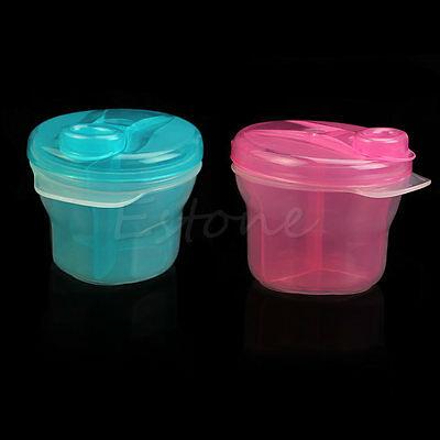 Portable Travel Baby Feeding Powder Formula Dispenser Container Storage Box New