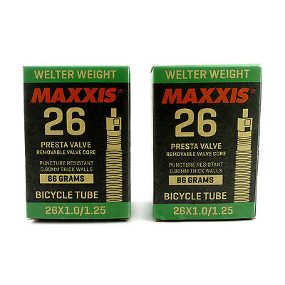 Maxxis Welter Weight 29 x 1.90-2.35 //0.8mm Thick Presta Valve Inner Tube
