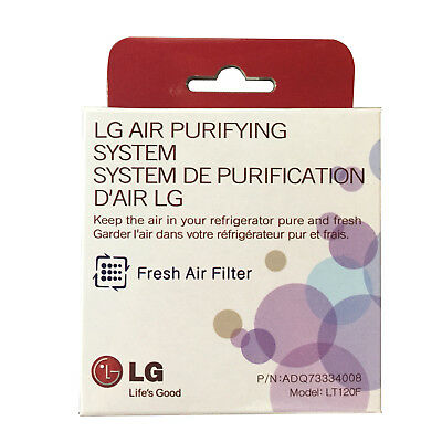 LG LT120F ADQ73214404 Fresh Air Replacement Refrigerator Air Filter