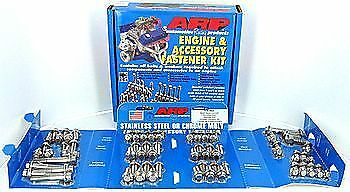 ARP 534-9501 Engine Accessory Bolt Kit Small Block Chevy Stainless 12 Point Head