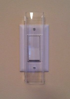 NEW Child Proof Light Switch Guard  For Decora Rocker Style FREE SHIPPING