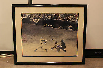 Joe DiMaggio Yankee Clipper Limited Edition Signed Print