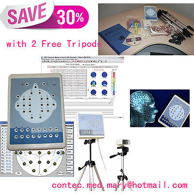 CONTEC CE EEG machine,Digital EEG Mapping Systems+tripods 16 Channel, KT88-1016