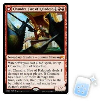 CHANDRA, FIRE OF KALADESH / CHANDRA, ROARING FLAME Magic Origins ORI Magic MTG