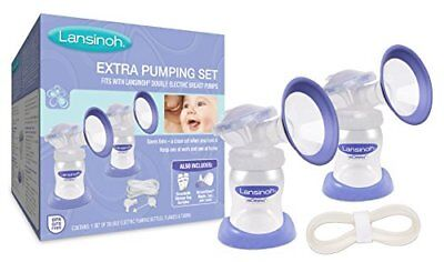 NEW Lansinoh Extra Breast Pumping Set FREE SHIPPING