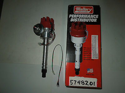 Mallory Magnetic Electronic Distributor Chevrolet  V-8 265-454 C.i. Engines