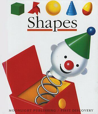 Moonlight Shapes Book - Children's First Discovery Acetate Shape Learning Book