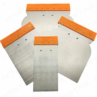 METAL PUTTY SPATULA SET SMALL-LARGE Scraper/Putty Knife/Drywall/Spreader/Filler