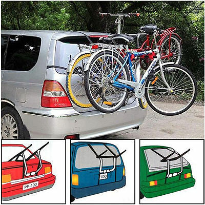 Triple / 3 Bike Bicycle Carrier Car Cycle Rack Rear Mount for UNIVERSAL
