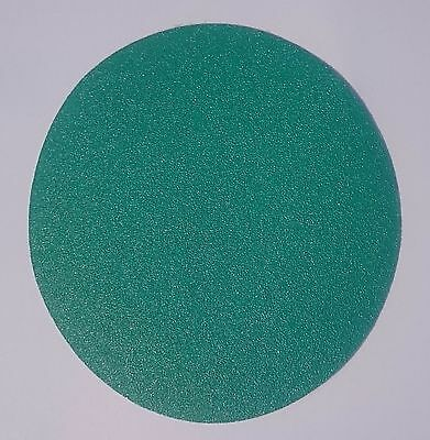 Oslong Abrasives Green Film 8-Inch PSA Box of 50 Sanding Discs 40 - 80 grit 8""