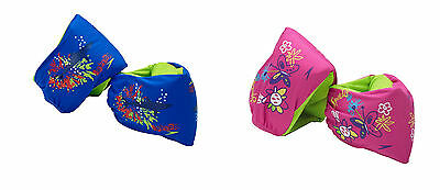 SPEEDO Fabric Arm Bands Learn to Swim Floaties Comfort Fit 2-12yrs 110lb 7570525