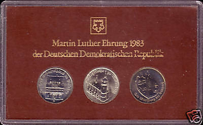 "Themensatz 1983 ""Martin Luther Ehrung"""