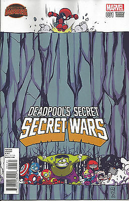 DEADPOOL'S SECRET SECRET WARS #1 SKOTTIE YOUNG Cover new Unread Marvel Comics
