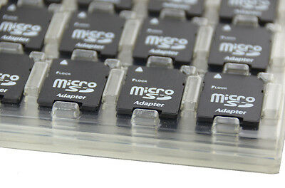 100 pcs of microsd to sd card reader for PC Laptops Cell phones photos ZTE tabs