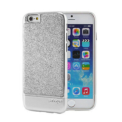 """New PRODIGEE Sparkle Fusion Glitter Silver iPhone 6 4.7"""" Case Hard Slim Cover"""