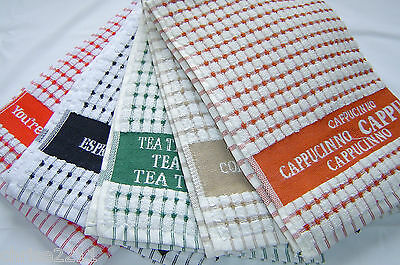 !00% Cotton Kitchen Hand/Tea Towels.  Great for your Hands/Dishes