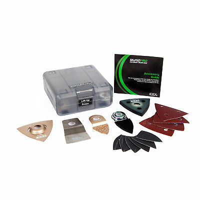 MultiPRO Accessory: Multi-tool Sanding & Grinding Kit (14 Piece Set)