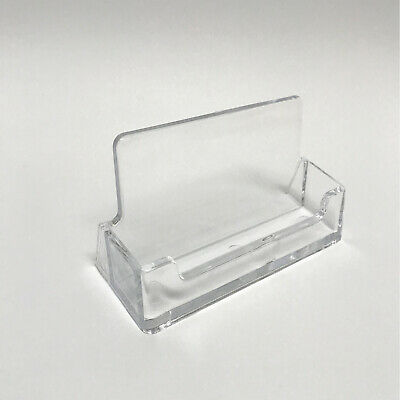 Acrylic Landscape Business Card Holders Desktop Dispensers Display Stands