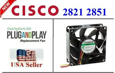 New Cisco 2821 2851 Router Replacement Fan for ACS-2821-51-FAN=