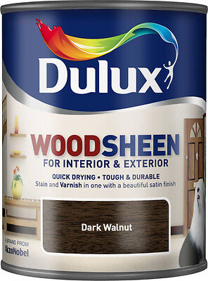 Dulux Woodsheen 750ml Dark Walnut