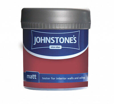 Johnstone's Matt Tester 75ml Poppy Field