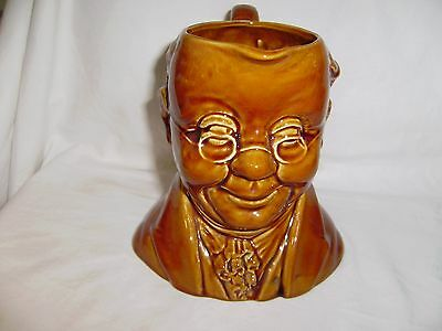 RARE SylvaC Pottery  of  England, Charles Dickens' MR. PICKWICK  #1452 Pitcher