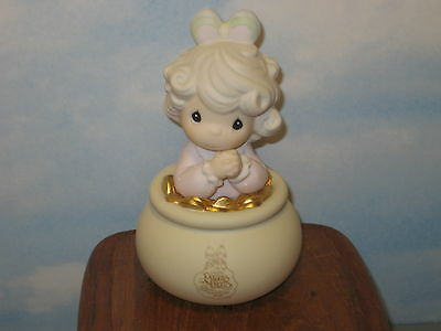 Precious Moments You're The End of My Rainbow Symbol of Membership 1994 MIB