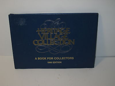 Department 56 Heritage Village Series Collection Collectors Book 1988