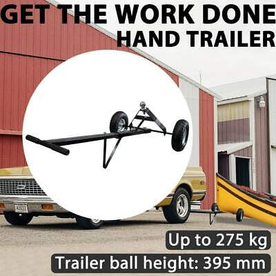 New Trailer Wheel Dolly 275kg/600lbs Camper Boat Mover Utility Chrome Hitch Ball