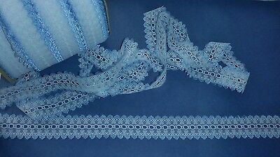 Heart Design Eyelet Knitting Lace 10m x 35mm