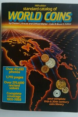Standard Catalog of World Coins 1989 edition.