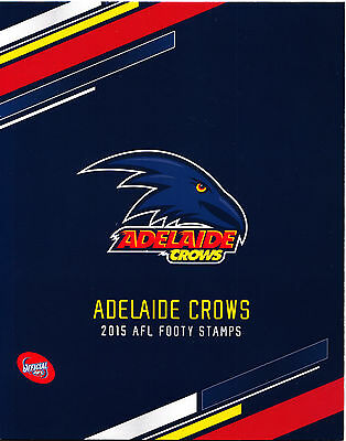 Australia AFL 2015 Adelaide Crows footy stamps