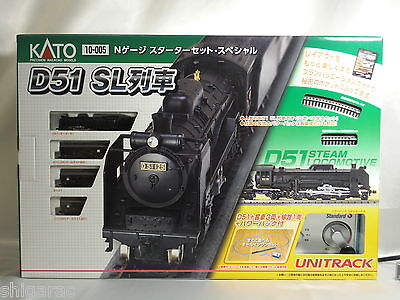 Kato n gauge Starter set Special Steam Locomotive 10-005 scale