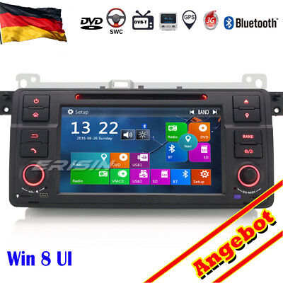 "7"" Autoradio GPS 3G DTV-IN Canbus Navi CD BT USB SD BMW 3 3er E46 MG ZT Rover 75"