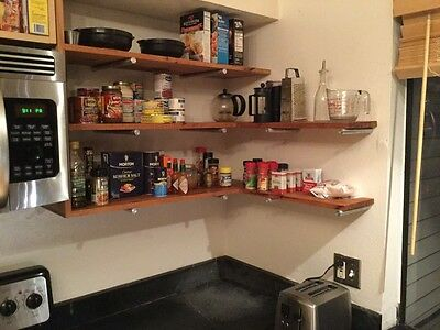 Aluminum Bars - Kitchen Shelves