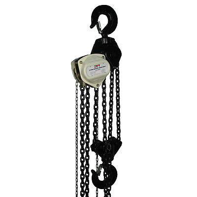 JET S90-1000-30 10 Ton Hand Chain Manual Hoist with 30' Lift - 101963