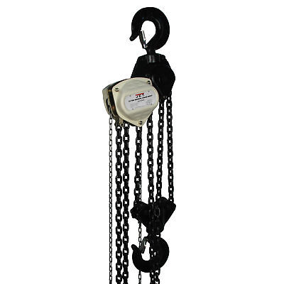 JET S90-1000-10 10 Ton Hand Chain Manual Hoist with 10' Lift - 101960