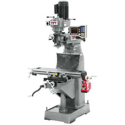 Jet JVM-836-1 Mill with ACU-RITE VUE DRO and X-Axis Powerfeed 690198
