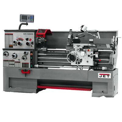 JET GH-1640ZX Large Spindle Bore Lathe With ACU-RITE 300S DRO & Taper Attachment