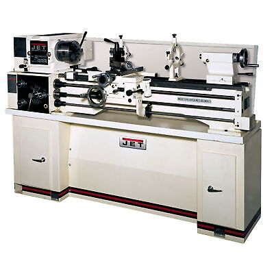 JET BDB-1340A Belt Drive Bench Lathe With Taper Attachment & Collet Closer