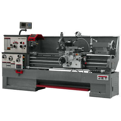JET GH-1660ZX Large Spindle Bore Lathe With ACU-RITE VUE DRO