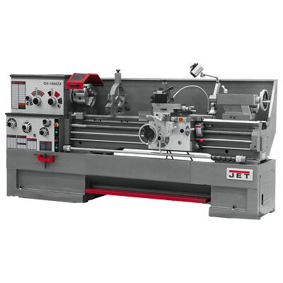 JET GH-1880ZX Large Spindle Bore Lathe With Taper Attachment and Collet Closer