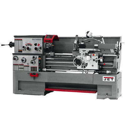 JET GH-1440ZX Large Spindle Bore Lathe With Collet Closer