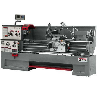 JET GH-1880ZX Large Spindle Bore Lathe With ACU-RITE 300S DRO