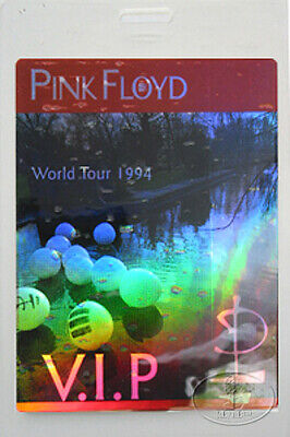 Pink Floyd 1994 VIP Laminated Backstage Pass Laser Foil