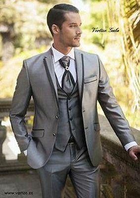 2016 Custom Made Men's Wedding Suits Groom Tuxedos Formal Business Suits Blazers