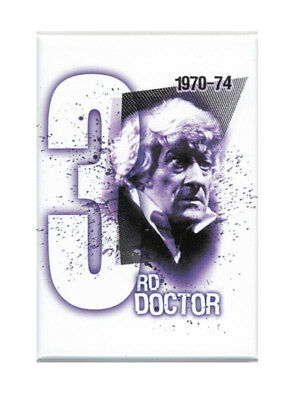 Doctor Who Third Doctor Magnet